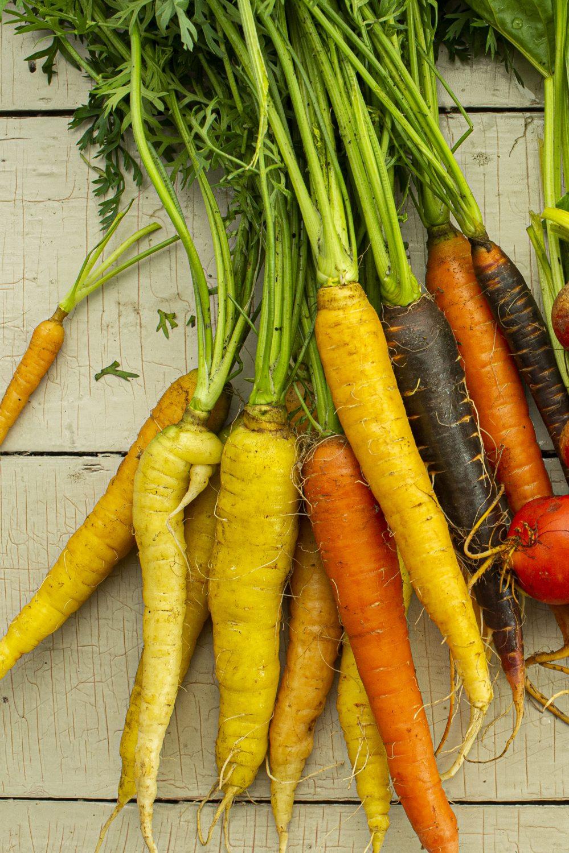 Houmous aux carottes épicées