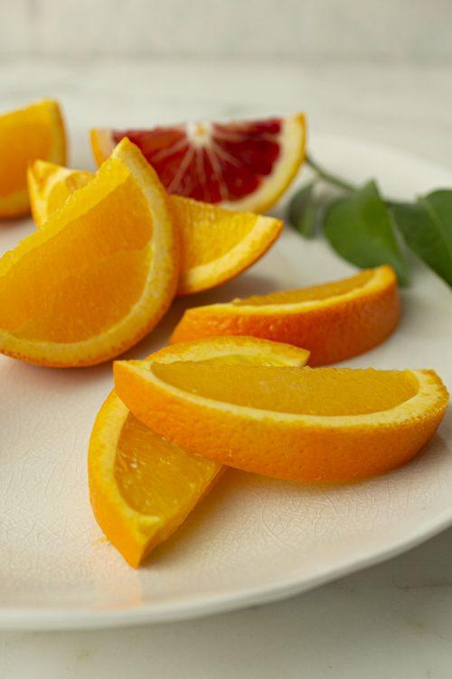 Glaçage à l'orange