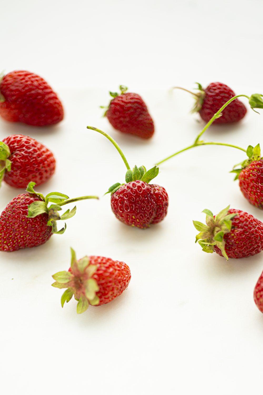Cocktail aux queues de fraises