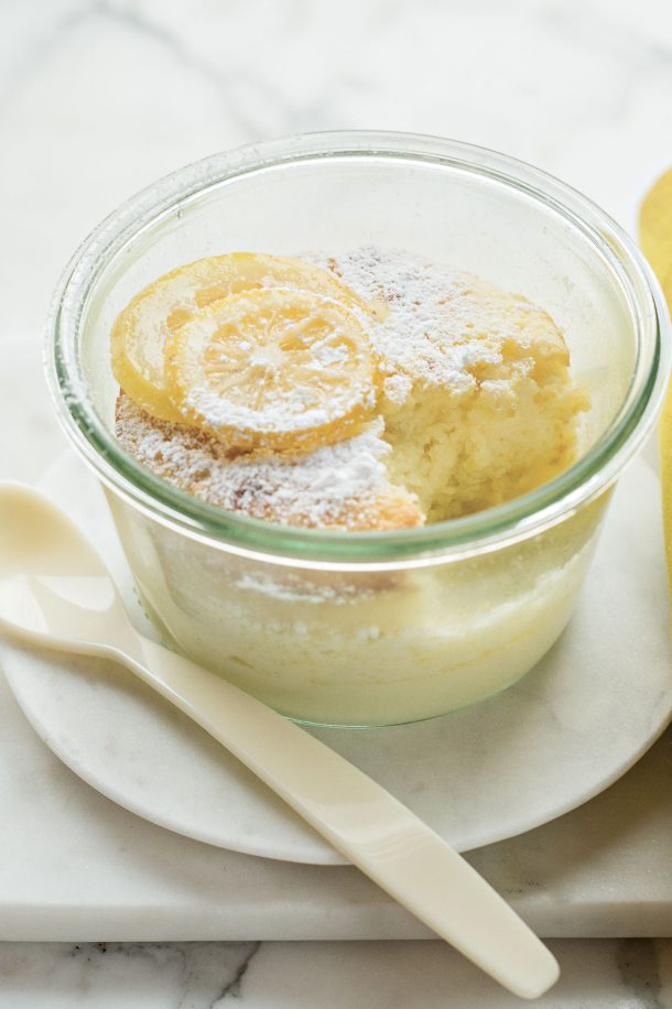 Gâteau soufflé au citron