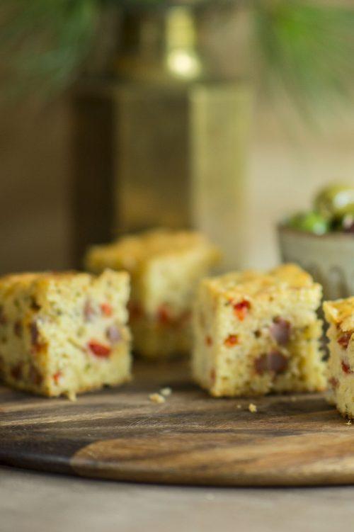 Cake apéro au gruyère et au chorizo
