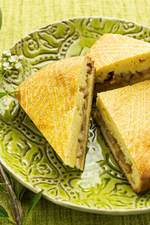 Galette bretonne aux pommes et citron