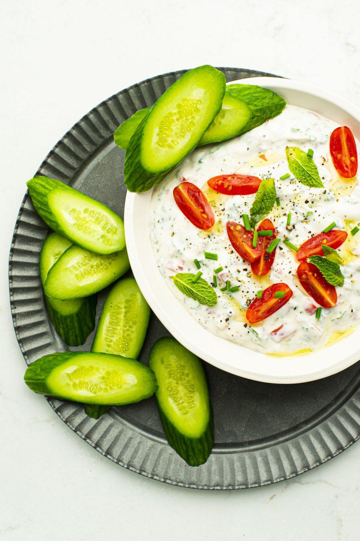 Labneh à la tomate