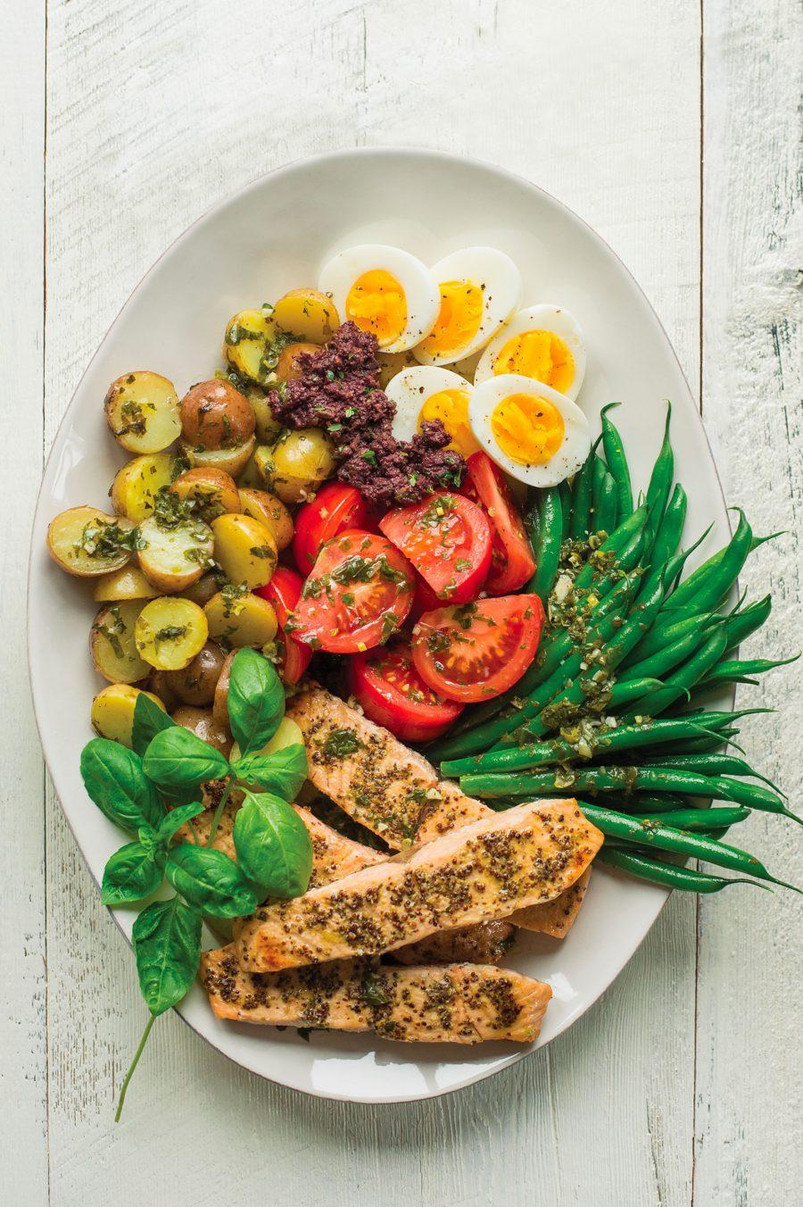 Savoureuses salades-repas