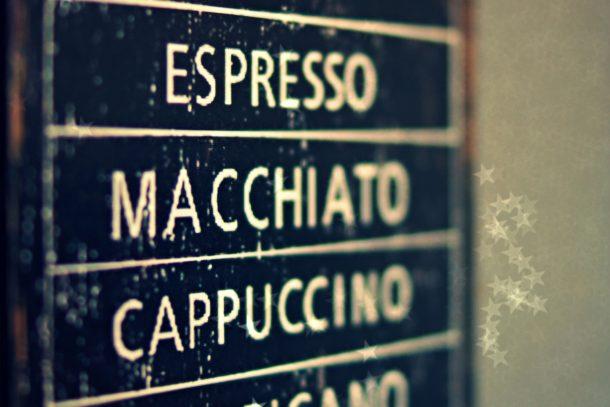 L'art de prendre un café en Italie