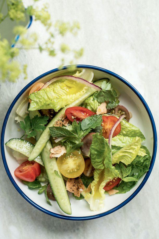 Salade croquante du marché