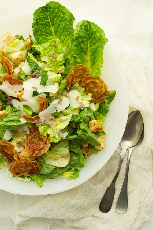 Sauce pour salade césar
