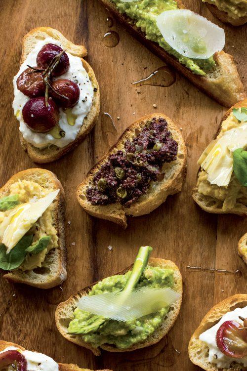 Tartinade d'olives noires