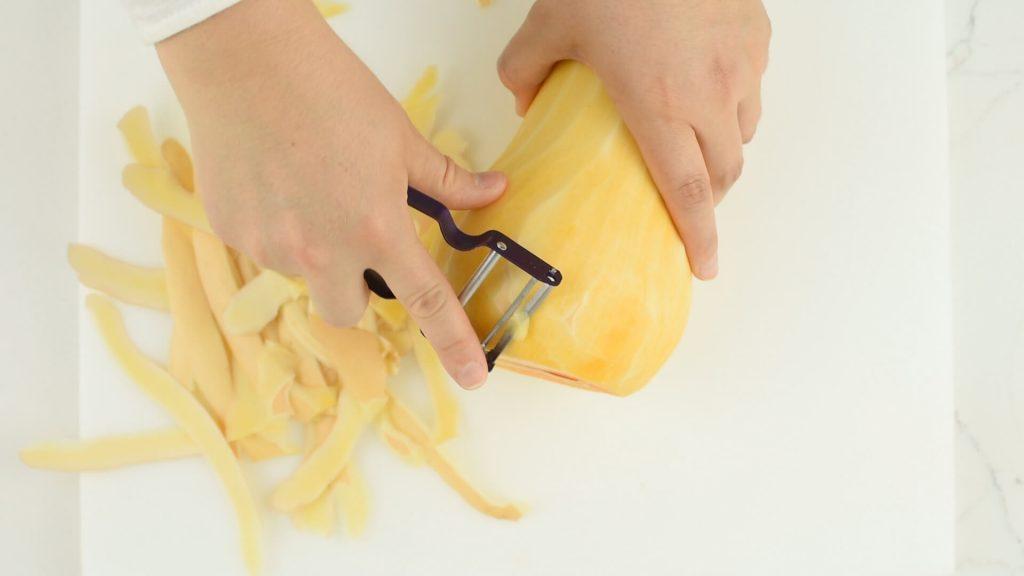Comment couper une courge musquée