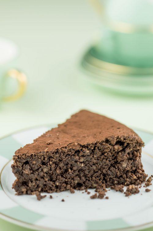 Gâteau aux noisettes et au café