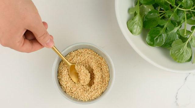 Gomasio (sel et graines de sésame)