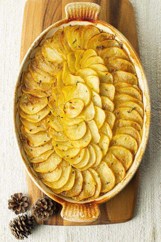 Cuisses de dindon braisées et pommes de terre