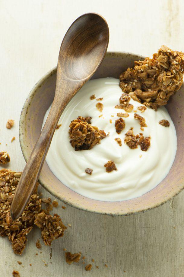 Croustillant de granola à l'érable