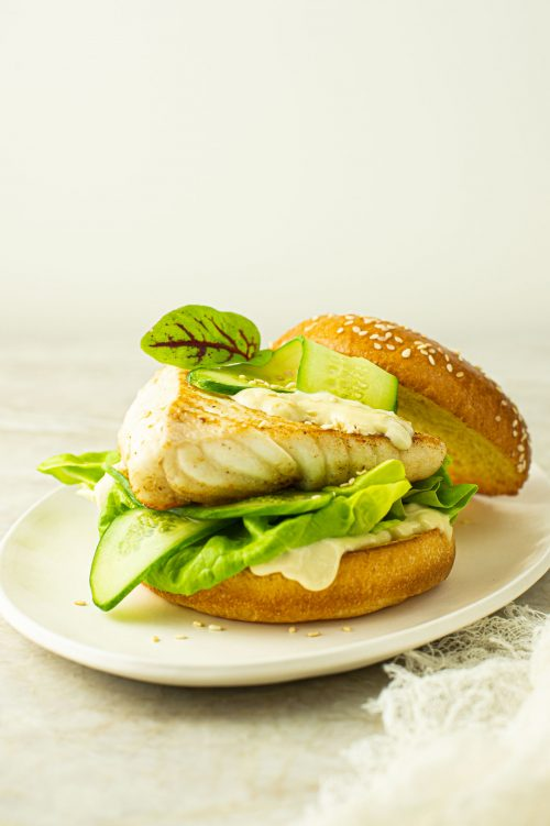 Burger de poisson