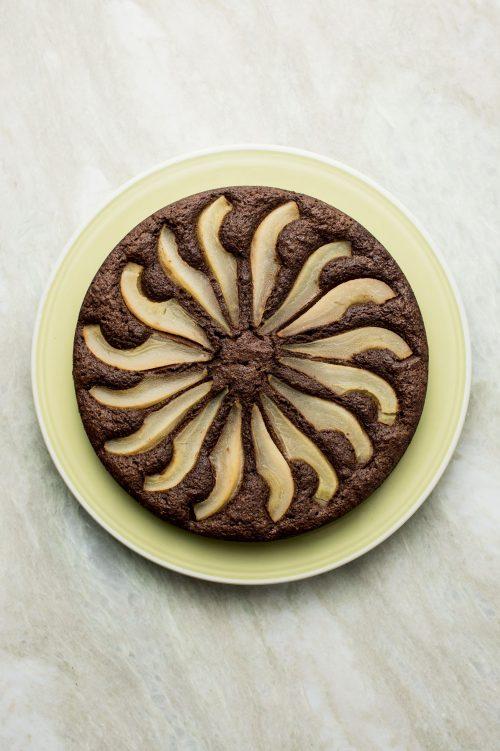 Torta aux poires et au chocolat