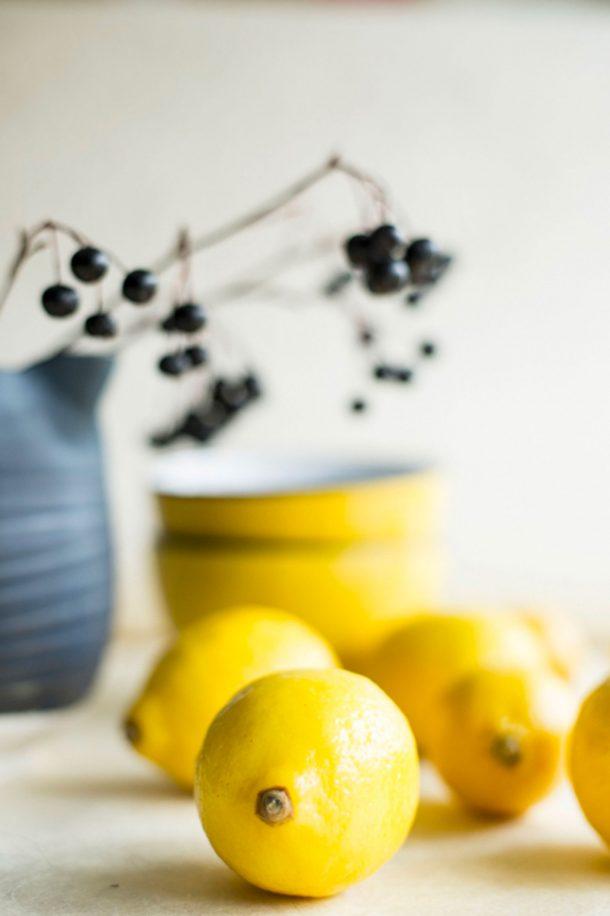 Sauce au yogourt citronné