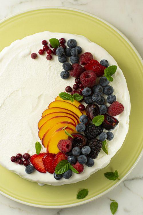 Tarte à la crème glacée
