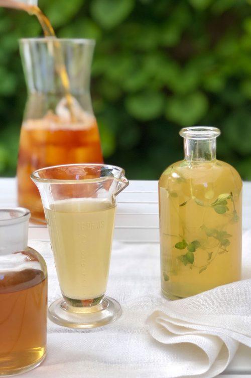 Sirops aromatisés