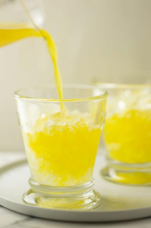 Limonade au curcuma