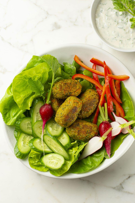 Falafels aux légumes