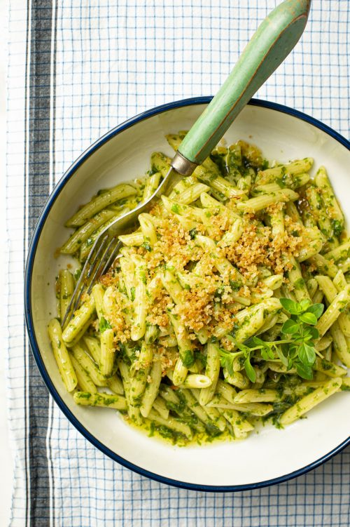 Pesto traditionnel italien au basilic genovese