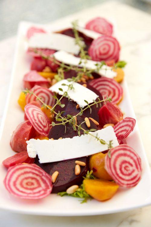 Salade de betteraves à l'italienne