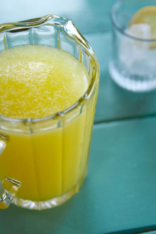Limonade à l'ananas et au gingembre