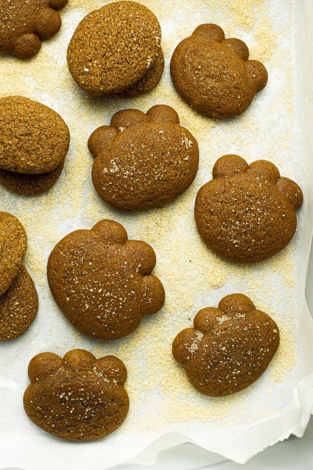Biscuits à la mélasse – Pattes d'ours
