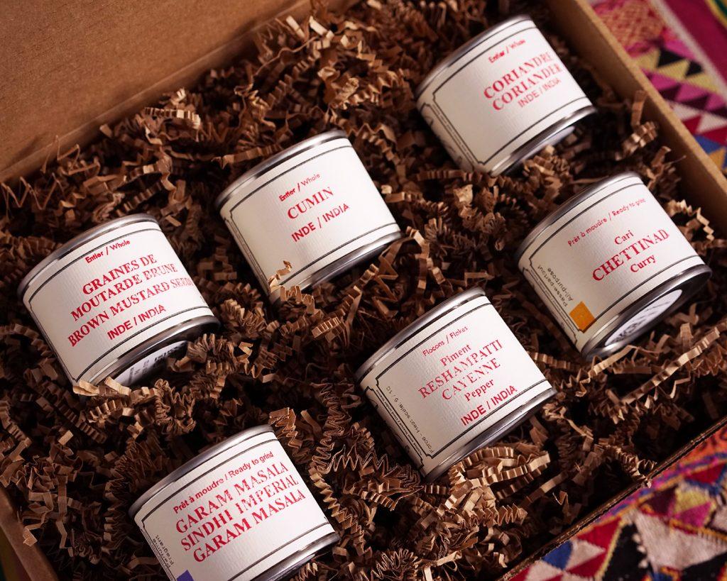 À gagner : un coffret d'épices indiennes