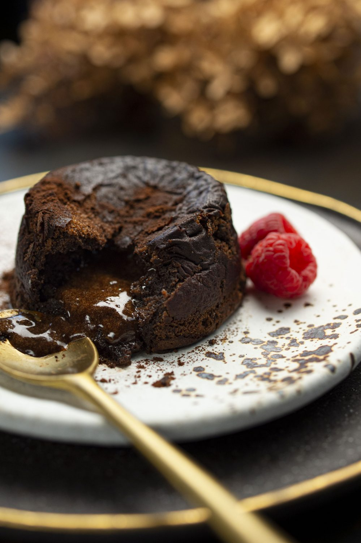 Gâteau fondant au chocolat pur Caraïbes