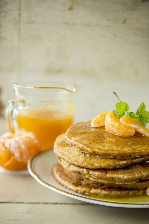 Pancakes au gingembre