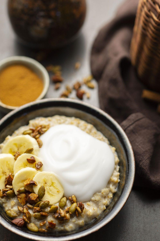 Porridge végétalien