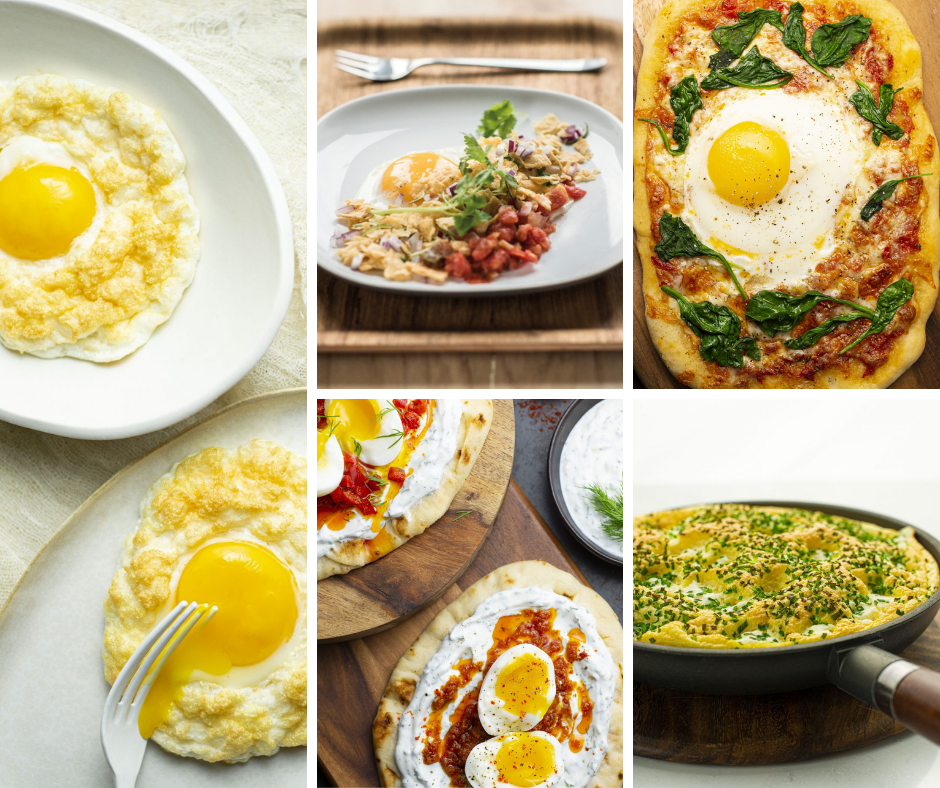 Mon Top 5 des recettes à base d'œufs