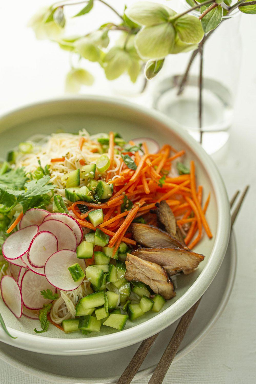 Salade de vermicelles vietnamiens