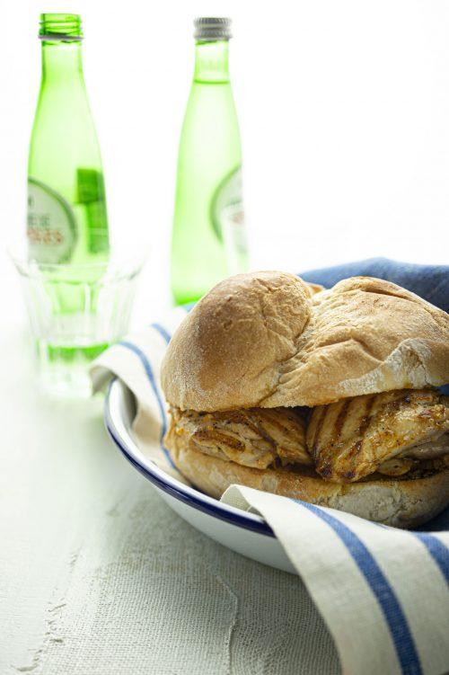 Sandwich au poulet portugais