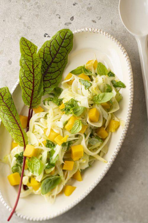 Salade de fenouil à la mangue