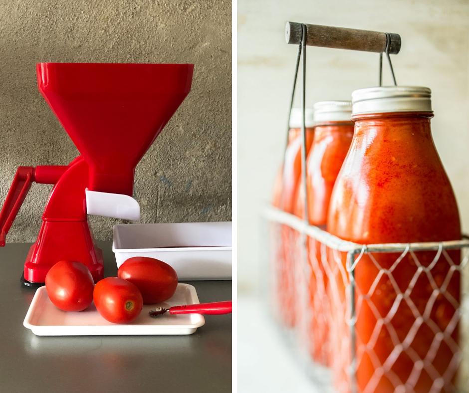 À gagner : un presse-tomates manuel Tic-Tac